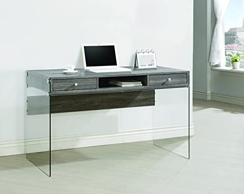 Coaster Furniture Glass Sided Computer Desk