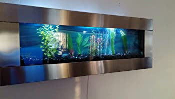 Wall Mount Aquarium Design Decoration