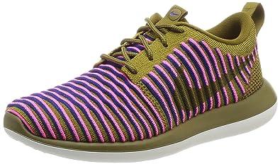 Nike 844929-300, Zapatillas de Trail Running para Mujer, Verde (Olive Flak/Olive Flak-Racer Blue), 38.5 EU