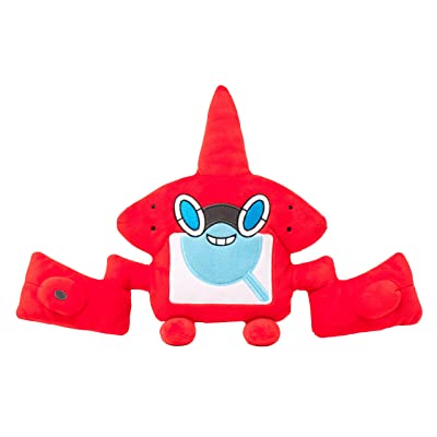 Pokemon Center Original Plush Doll Stuffed Toy Rotom Visual Dictionary (Japan Import): Toys & Games