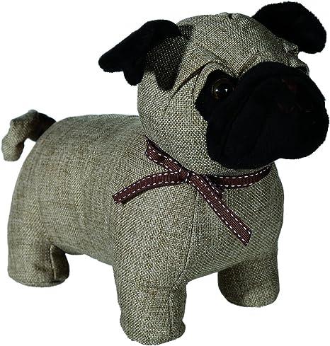 Super Cute Pug Dog Door Stop 1kg Fabric Home Decorative Ornament Figure Novelty