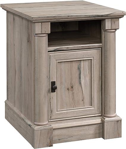 Sauder 424816 Palladia Side Table, Split Oak Finish