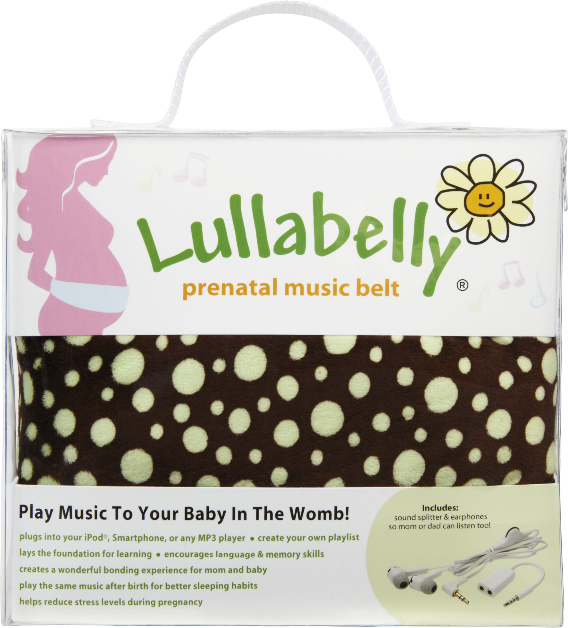 Lullabelly Prenatal Music Belt Deluxe Package by Lullabelly (Image #1)