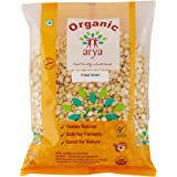 Arya Farm 100% Certified Organic Roasted Bengal Gram Bhuna Chana, 500g