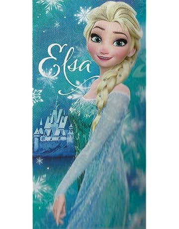 EANAGO Toalla Elsa Disney Frozen Frozen Frozen, Microfibra, 70 x 140 cm, Toalla