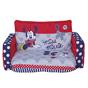 Disney Junior Minnie Mouse Tween Flip Out Sofa