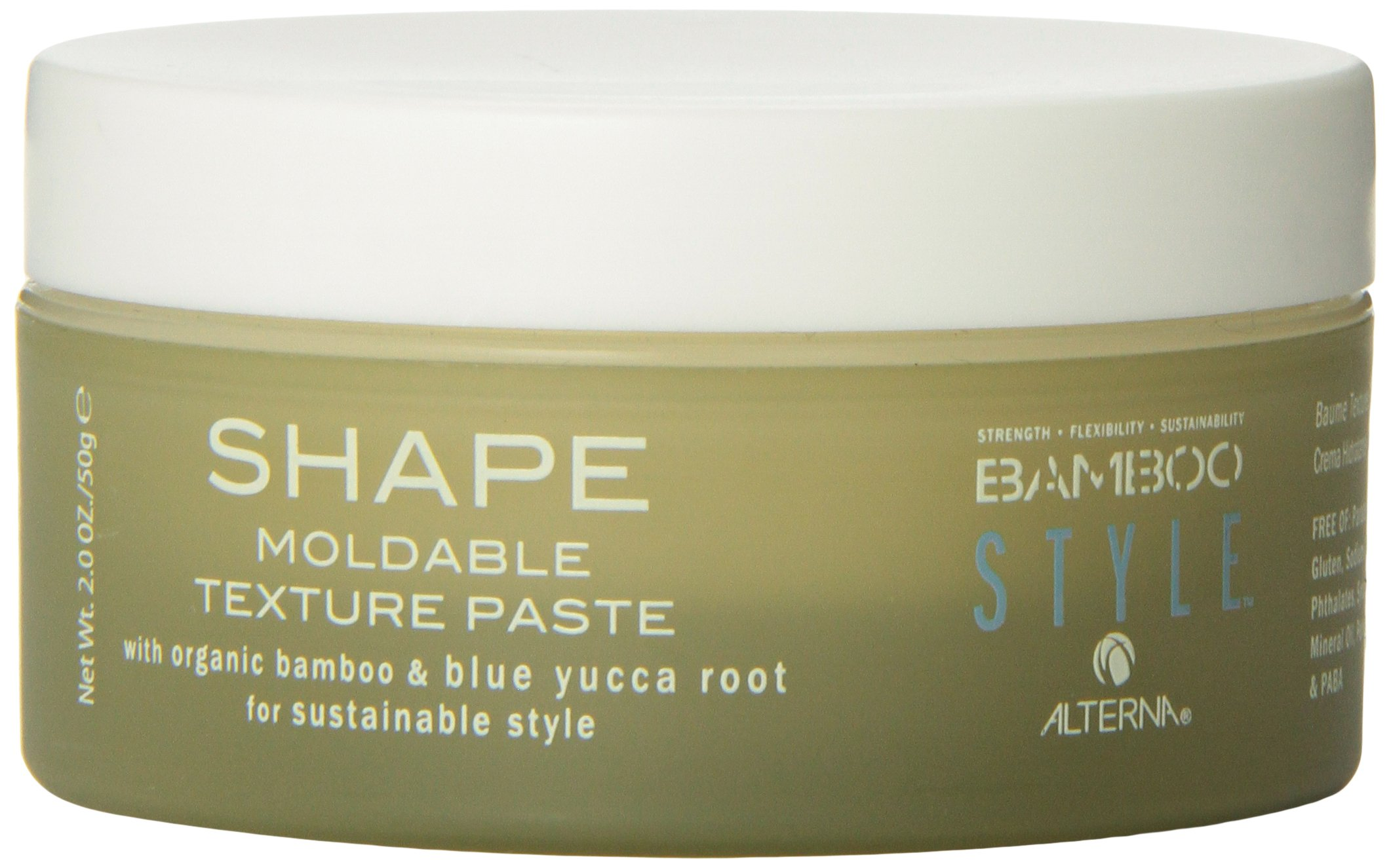 Alterna Bamboo Style Shape Moldable Texture Paste for Unisex, 2 Ounce
