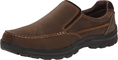 Amazon.com | Skechers Men's Braver Rayland Slip-On Loafer | Shoes
