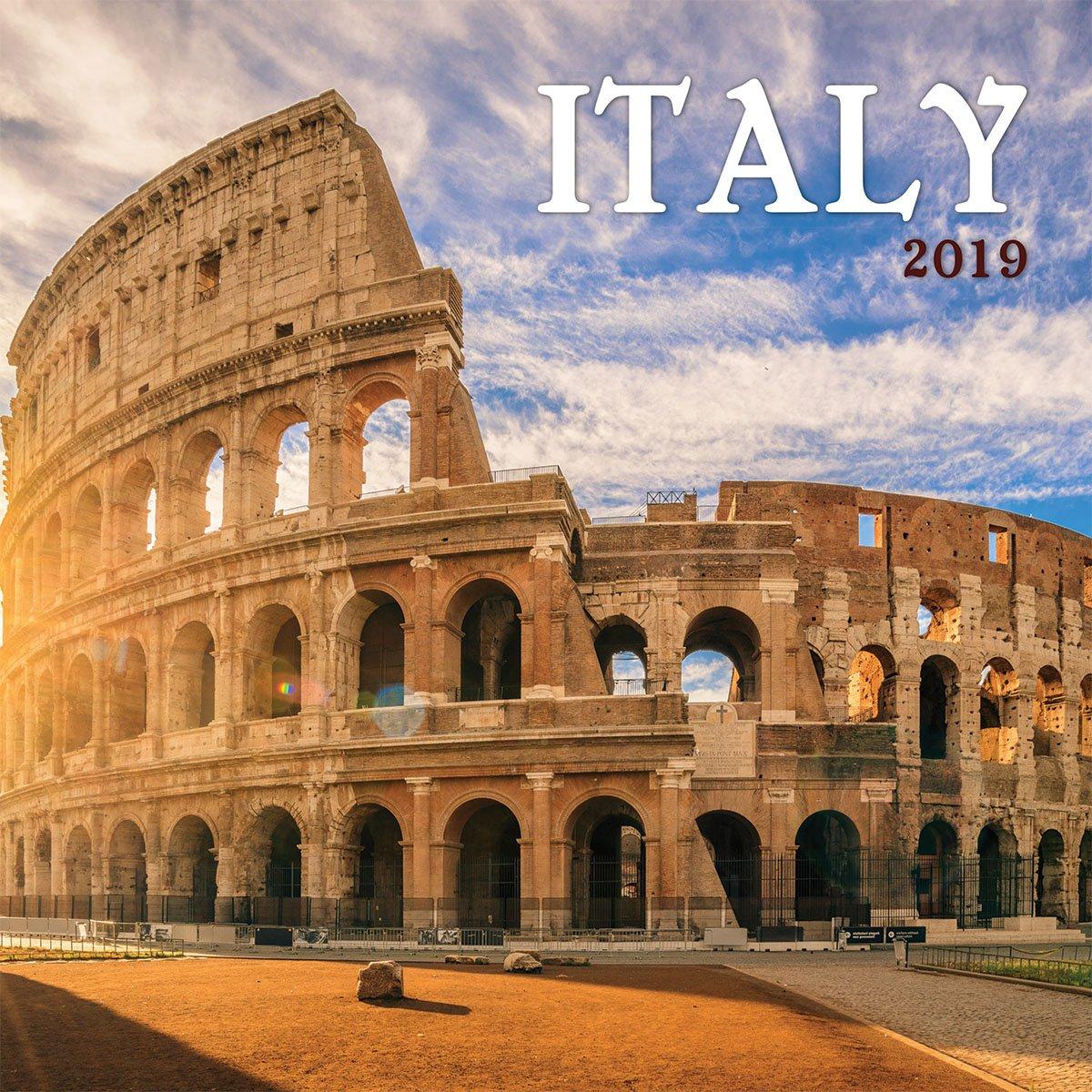 Turner Photo Italy 2019 Wall Calendar (199989400320 Office Wall Calendar (19998940032)