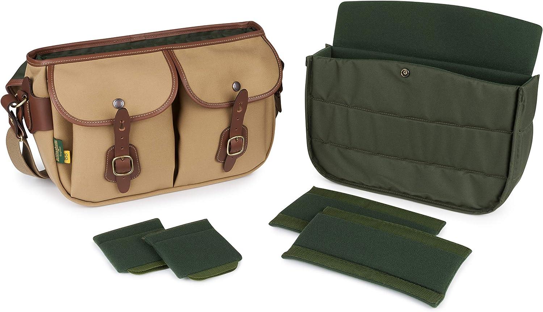 Billingham 505148-54 Hadley Pro 2020 Camera Bag Sage Fibrenyte//Chocolate Leather