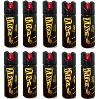 Paquete de 10 Gas Pimienta Mediano 90 g 100% Potente