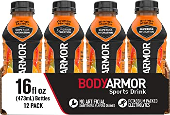12-Pack Bodyarmor Natural Flavors With Vitamins Sports Drink