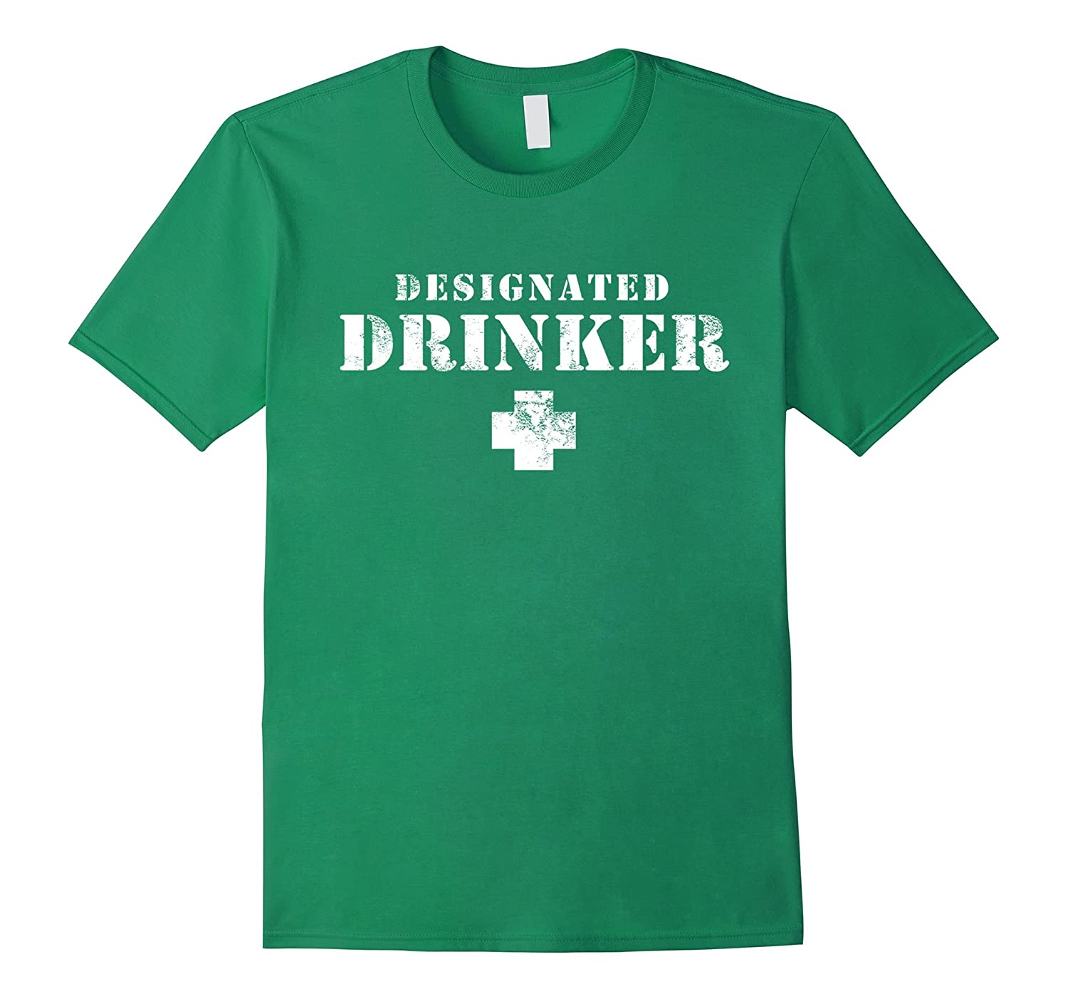 Designated Drinker T Shirt For St Patricks Day TD