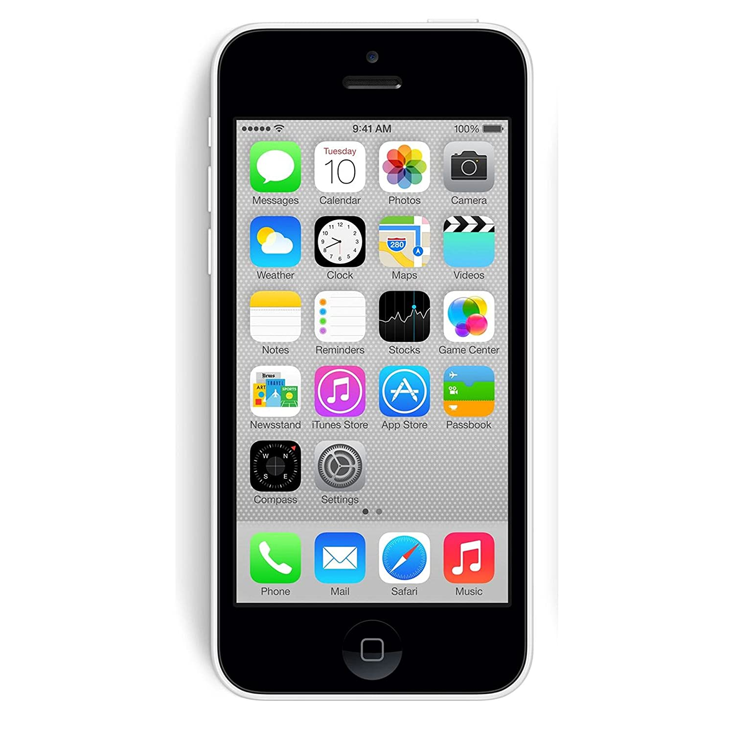 9082f3600 Apple iPhone 5C White 16GB Unlocked GSM Smartphone (Refurbished)
