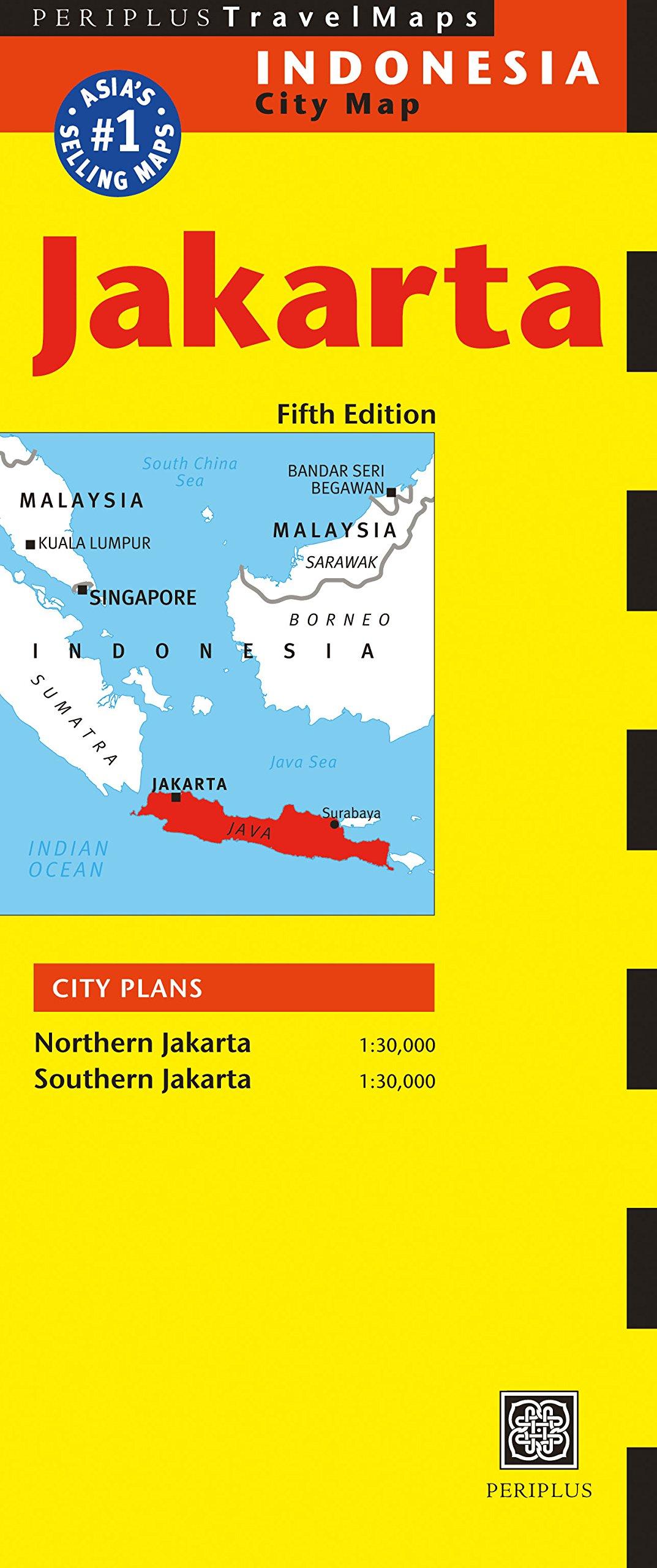 Jakarta Travel Map Sixth Edition Periplus Travel Maps Periplus Editions 9780794607098 Amazon Com Books