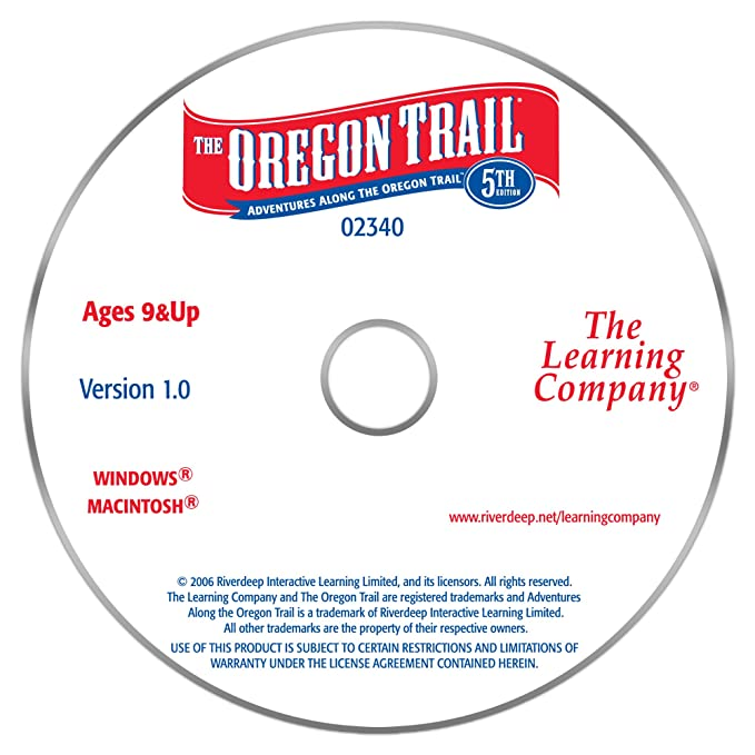 Oregon trail 5th edition: amazon. Ca: software.