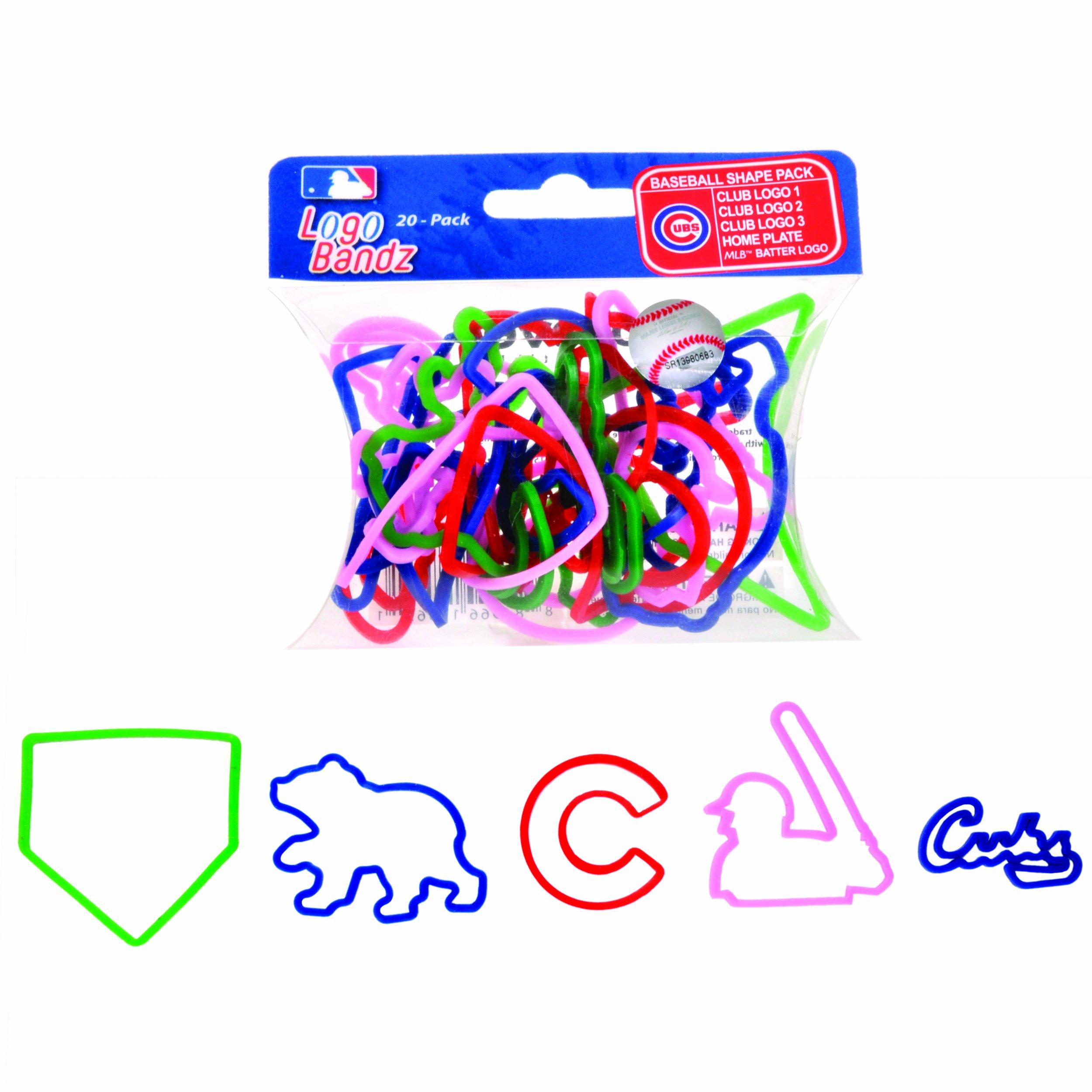 Chicago Cubs Logo Bandz Bracelets