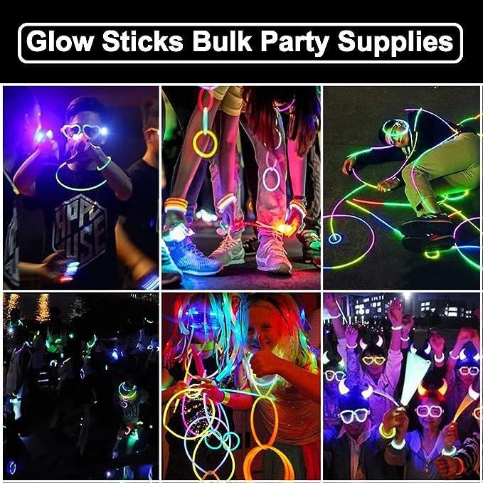 "50x6/"" INCH 15cm Glow Sticks Wholesale Glow Sticks Party Rave Festival Party Bags"