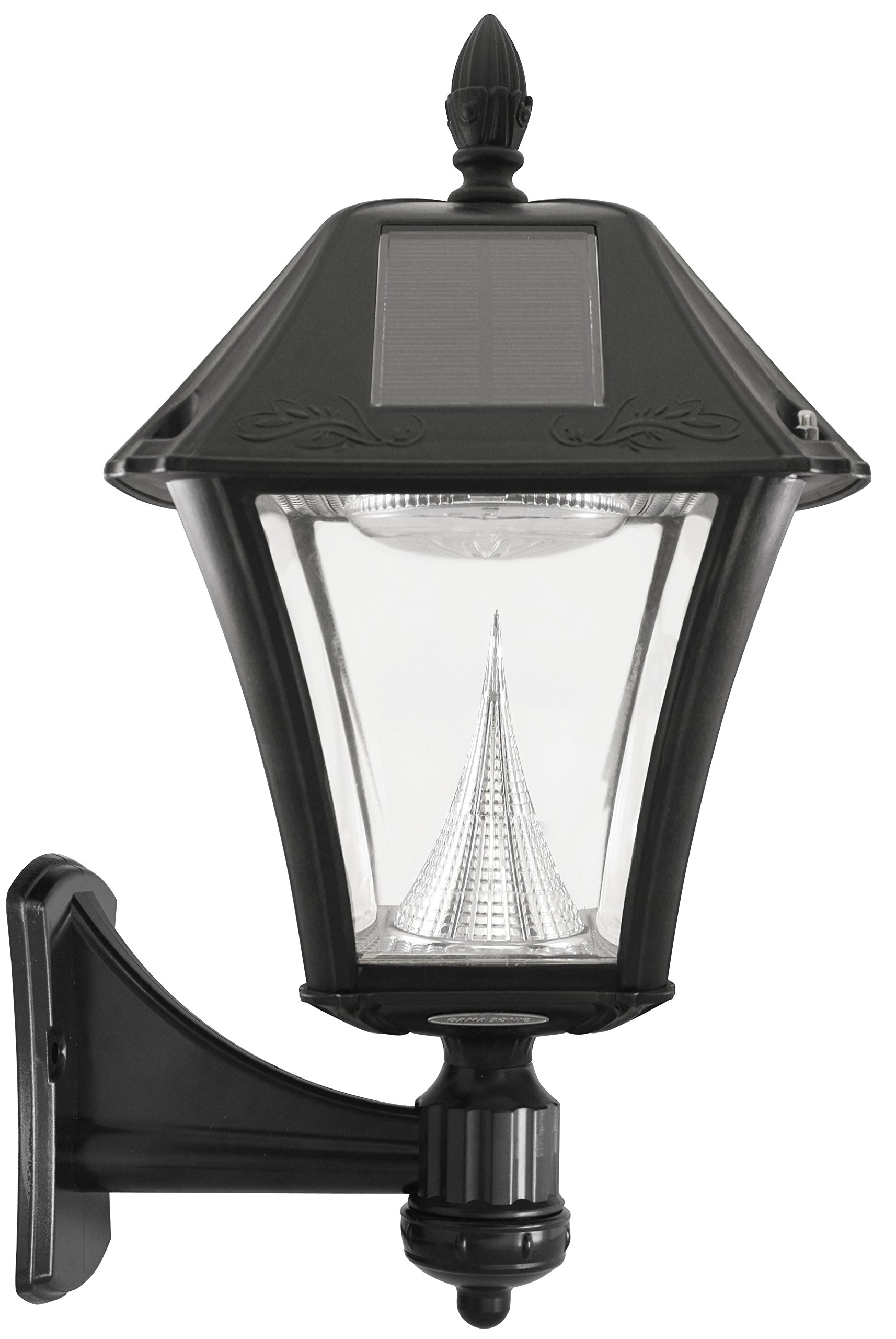 gama sonic baytown ii solar outdoor led light fixture pole post wall mount kit 853153005336 ebay. Black Bedroom Furniture Sets. Home Design Ideas