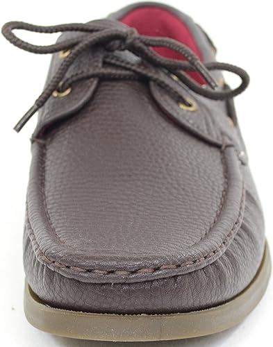 Absolute Footwear pour Homme Smart//d/écontract/é///ét/é /à Lacets du Pont de Bateau//Chaussures//Mocassins