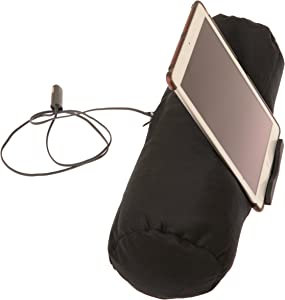 TAB Roll - ipad Pillow Tablet/EReader Lap Holder - A Must Have Accessory Stand for Apple iPad Kindle & Kobo - Perfect for Bed, Couch, or On Your Knees - Adjustable to Any Angle - Secure Hold