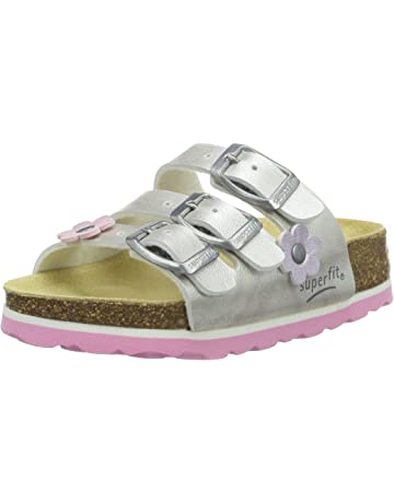73184e3e7f4 Superfit Girls  Fussbettpantoffel Open Back Slippers