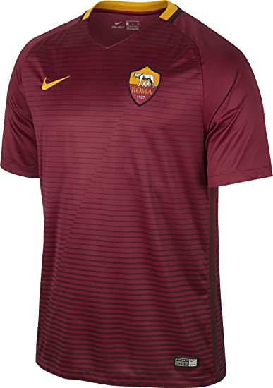 reputable site a7d47 08a75 Nike Mens 201617 Roma Home Jersey X-Large