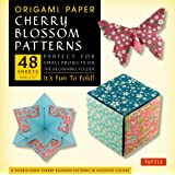 Origami Cherry Blossoms Paper Pack Small 6 3/4: 48 Sheets. 8 Double-Sided Patterns in Assorted Colours): It's Fun to Fold! (Origami Paper)