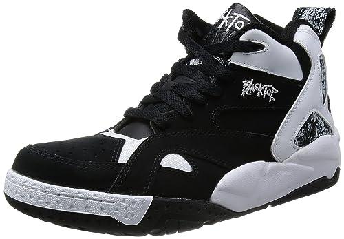 0ae7122d1707 Reebok Herren Sneakers Blacktop Boulevard Black White V55438
