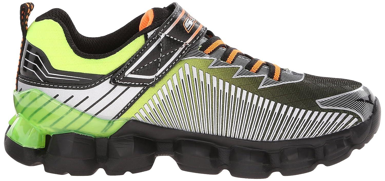 Skechers Kids Flashpod Gore And Strap Light Up Sneaker