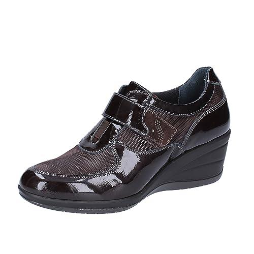 Susimoda Fashion Sneakers Donna 37 EU Marrone Camoscio Vernice