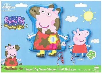 Amscan - Globos Peppa Pig (2974701): Amazon.es: Juguetes y ...