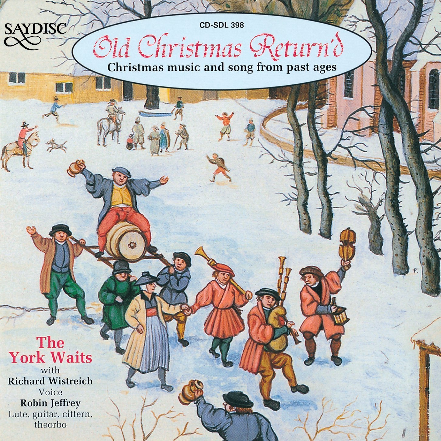 VARIOUS ARTISTS - Old Christmas Return\'d: Christmas Music Past Ages ...