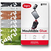 Sugru Moldable Glue - Original Formula - Natural Colors 8-Pack