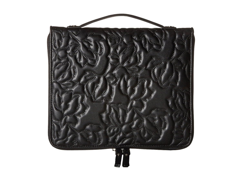 [イヴァンカ トランプ] Ivanka Trump レディース Sutton Portfolio ブリーフケース [並行輸入品] B01N66VEGK Black Quilted Floral