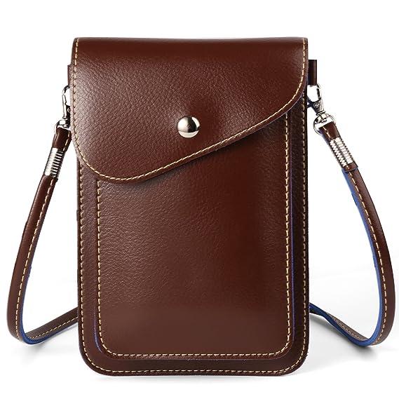 be4f6b31eb14 ZZJ Women's PU Leather Crossbody Bag Wallet Case Purse Pouch for Samsung  Galaxy Note 8 / S8 Active / S8+ / S8 / S7 Edge / Motorola Moto G5s G5 Plus  / ...