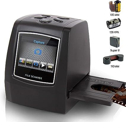 Super Eight Film PSCNPHO32 Pyle 22MP Slide Film Scanner All in 1 Digital Scanner Slide Film 35mm Slide Converter Converts 35mm Negative /& Slides 126 film Film to Digital Converter