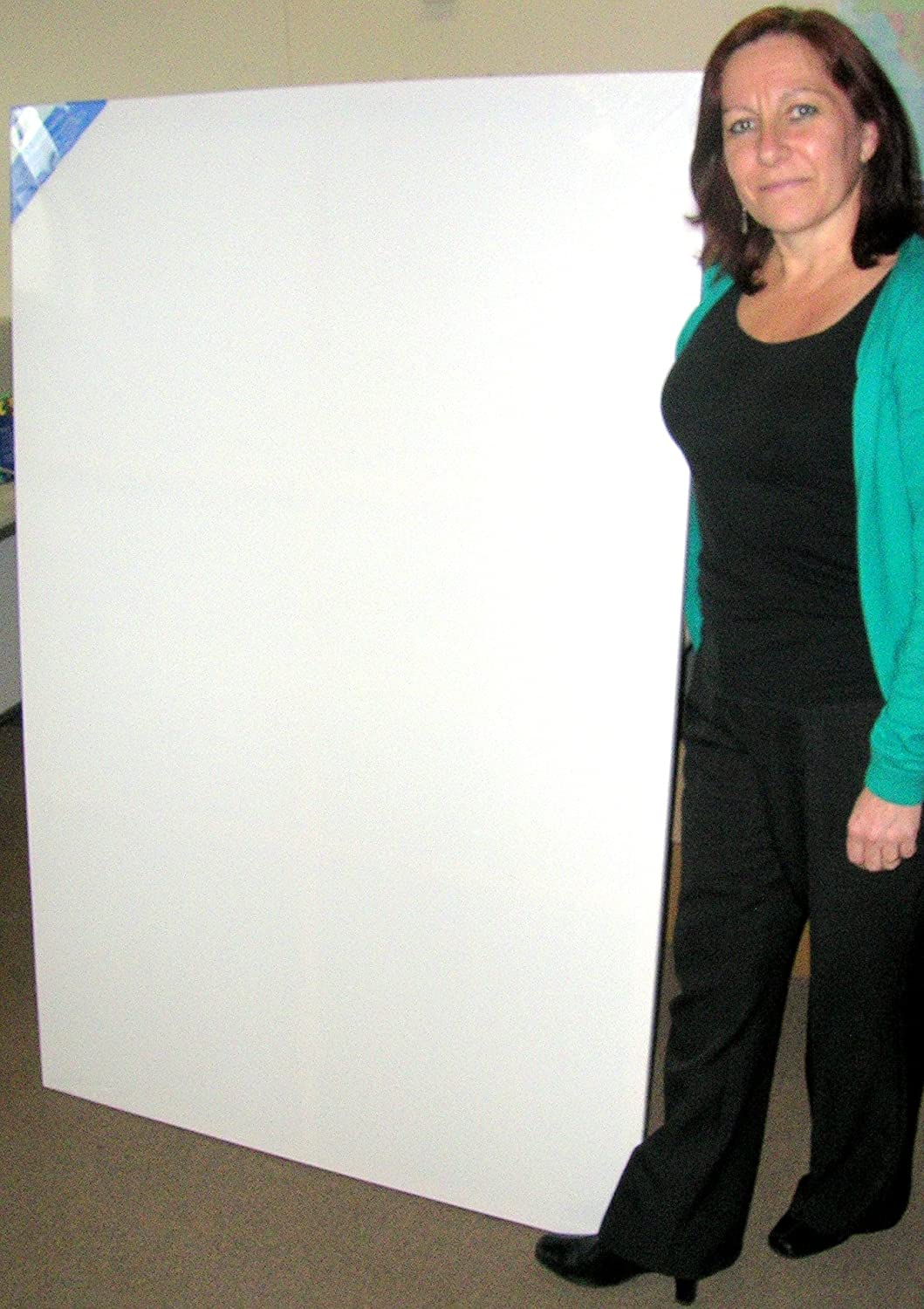 pack of 2 stretched blank canvas for artists extra large size 40