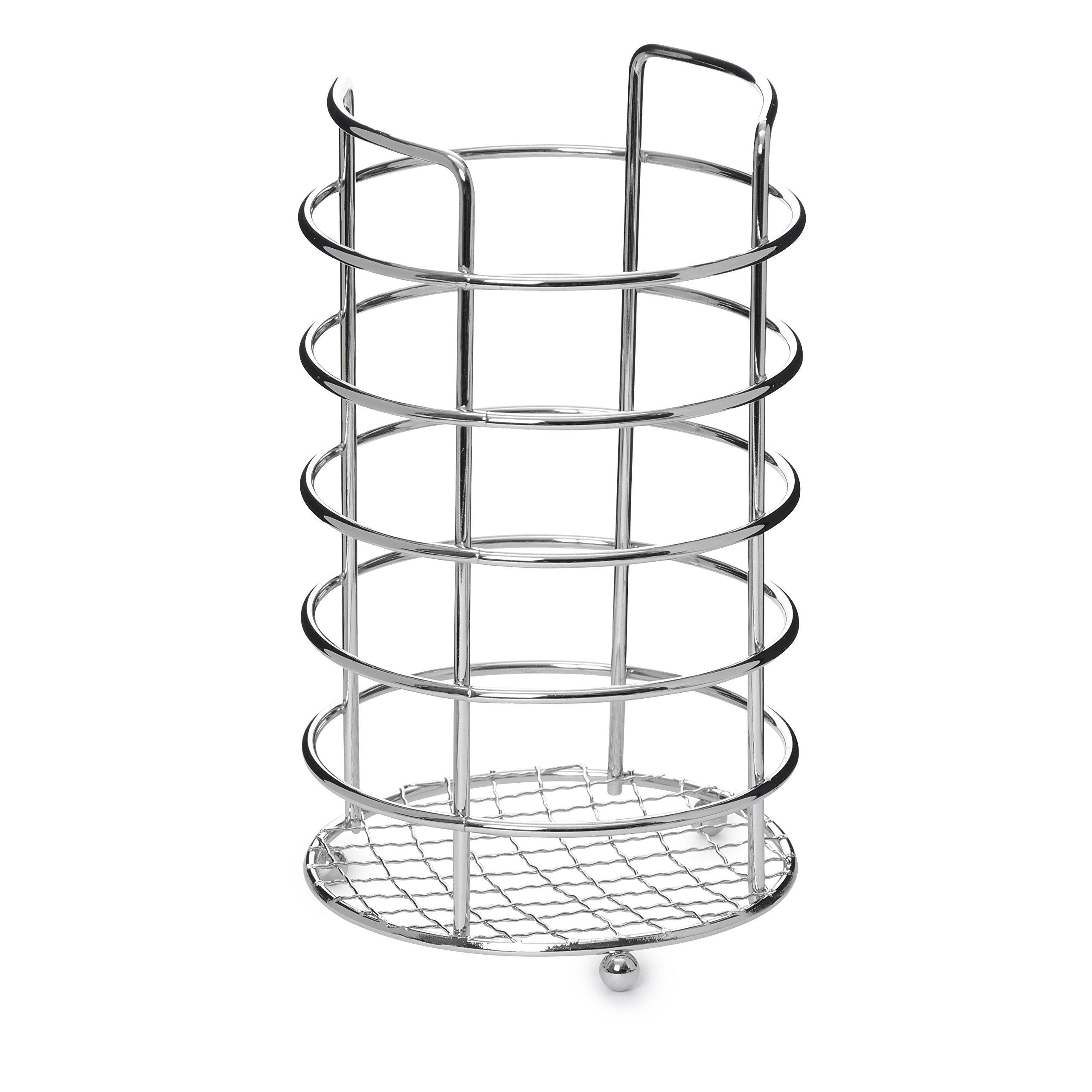 Ybmhome Chrome Utensil Rack. Kitchen Utensil Holder, Caddy Rack, Storage Holder Organizer 2228 (1)