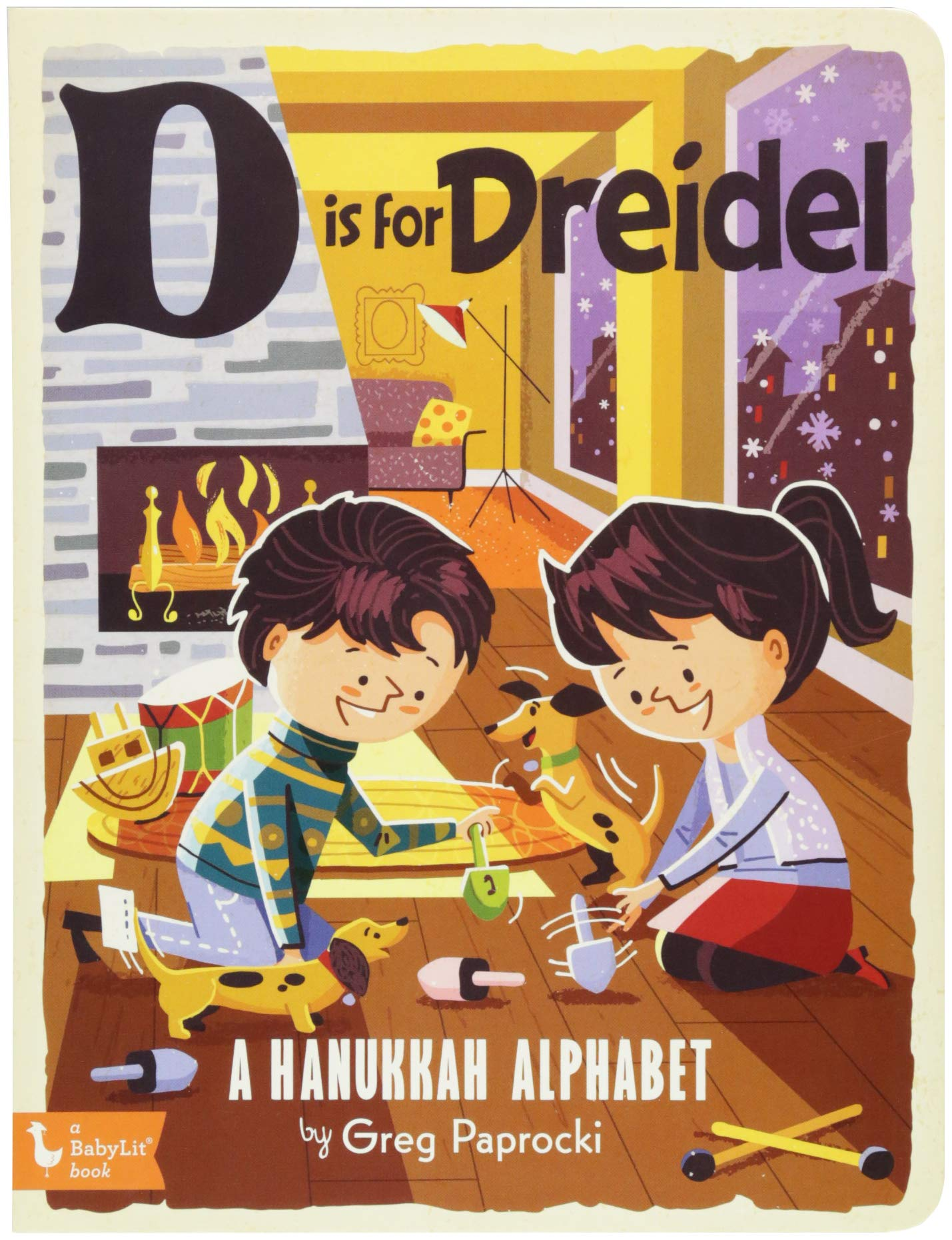 Download D Is for Dreidel: A Hanukkah Alphabet PDF