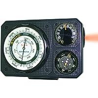 Générique Sun Company Navigat R 6metres–Six-Function Instrument de Tableau de Bord pour Voiture et Camion | altimètre, baromètre, Boule, Boussole, thermomètre, lumière LED, Signal Miroir