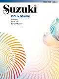 Suzuki Violin School - Volume 2 (Revised): Violin Part