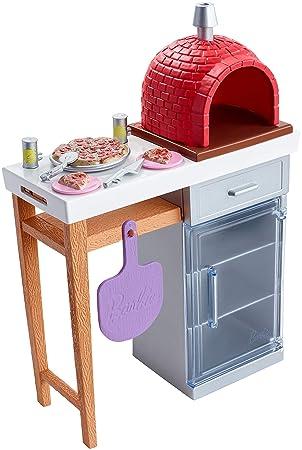 Amazon Es Barbie Quiero Ser Pizza Chef Accesorios De Cocina