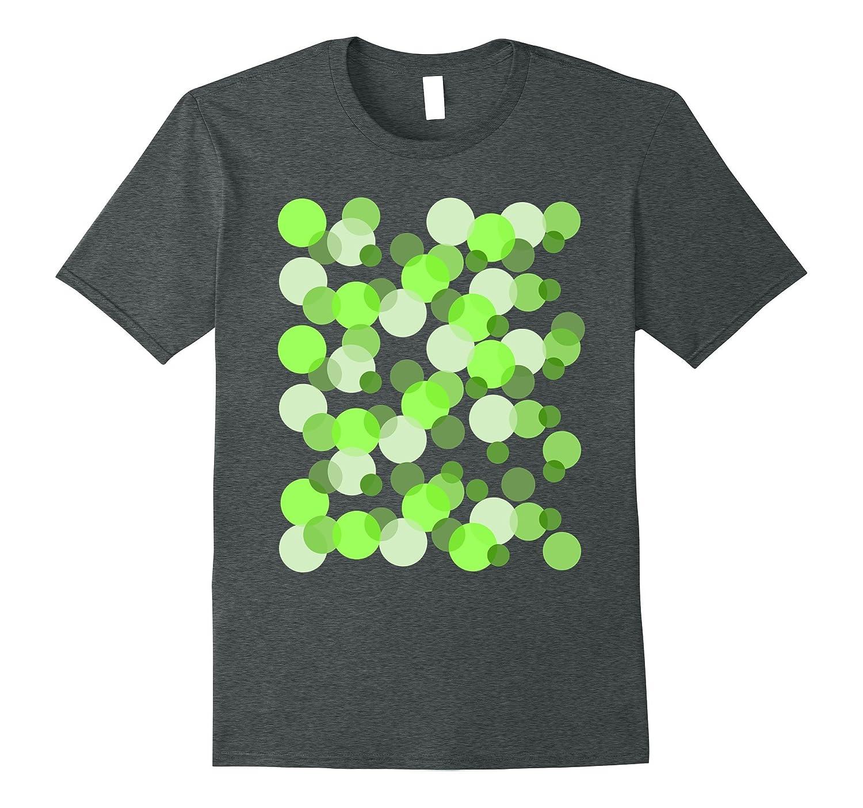 Green Spots Polka dot T-shirt-Vaci