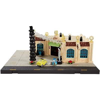 Disney Pixar Cars Precision Series Luigi\'s Casa Della Tires Playset: Toys & Games [5Bkhe1003256]