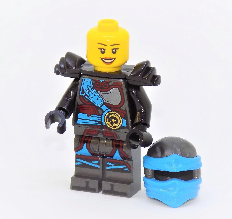 LEGO Ninjago NYA with Hands of Time Torso and Black Armor Minifigure
