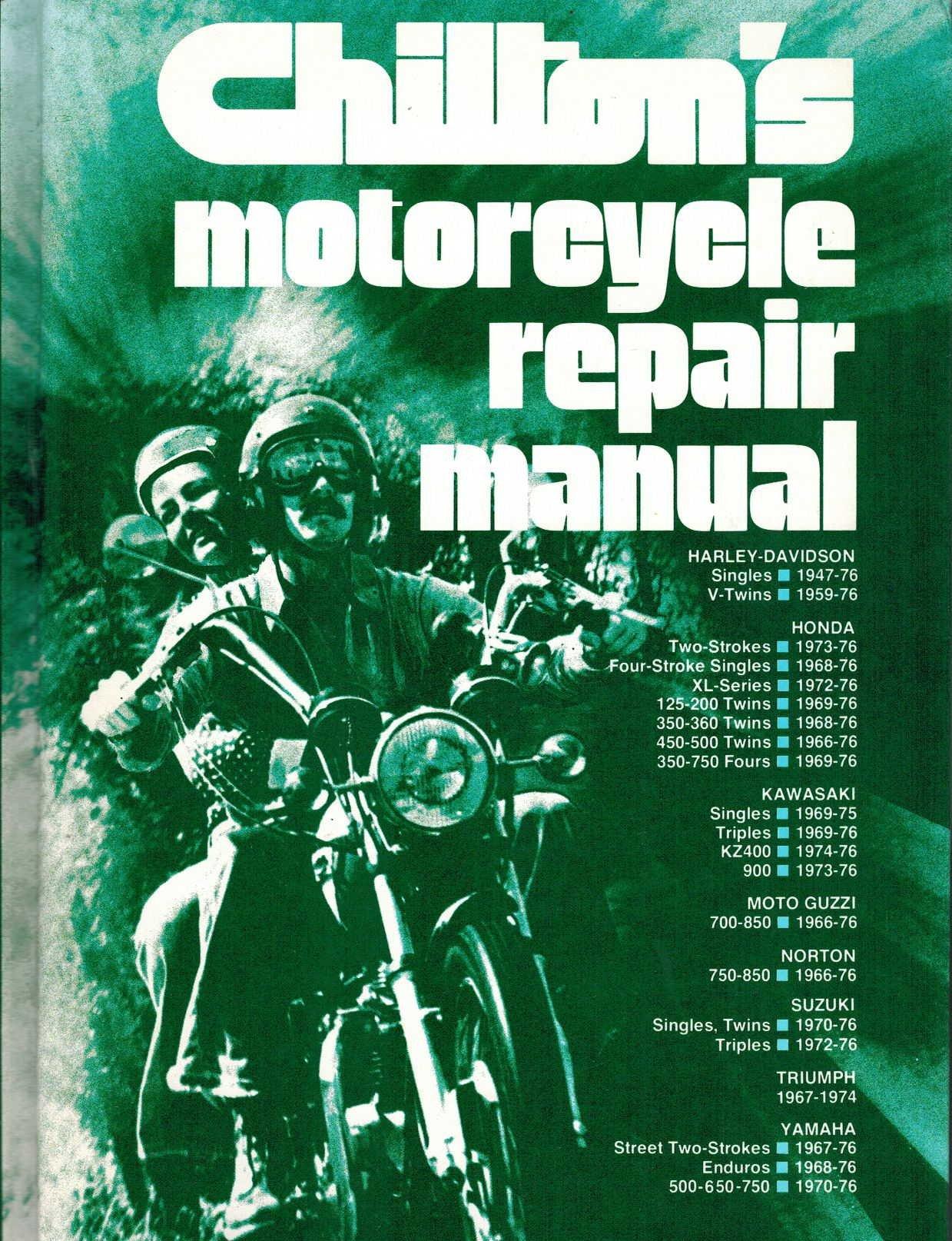 Chilton's Motorcycle Repair Manual: Alan F. Turner: 9780801965098:  Amazon.com: Books