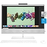 HP Pavilion 27-inch All-in-One Desktop, 10th Gen Intel i7-10700T Processor, 16 GB RAM, 1 TB SSD Storage, Full HD IPS Touchscr