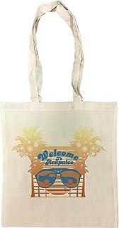 Erido Welcome To Acapulco Borse Riutilizzabili Per La Spesa Shopping Bag For Graceries