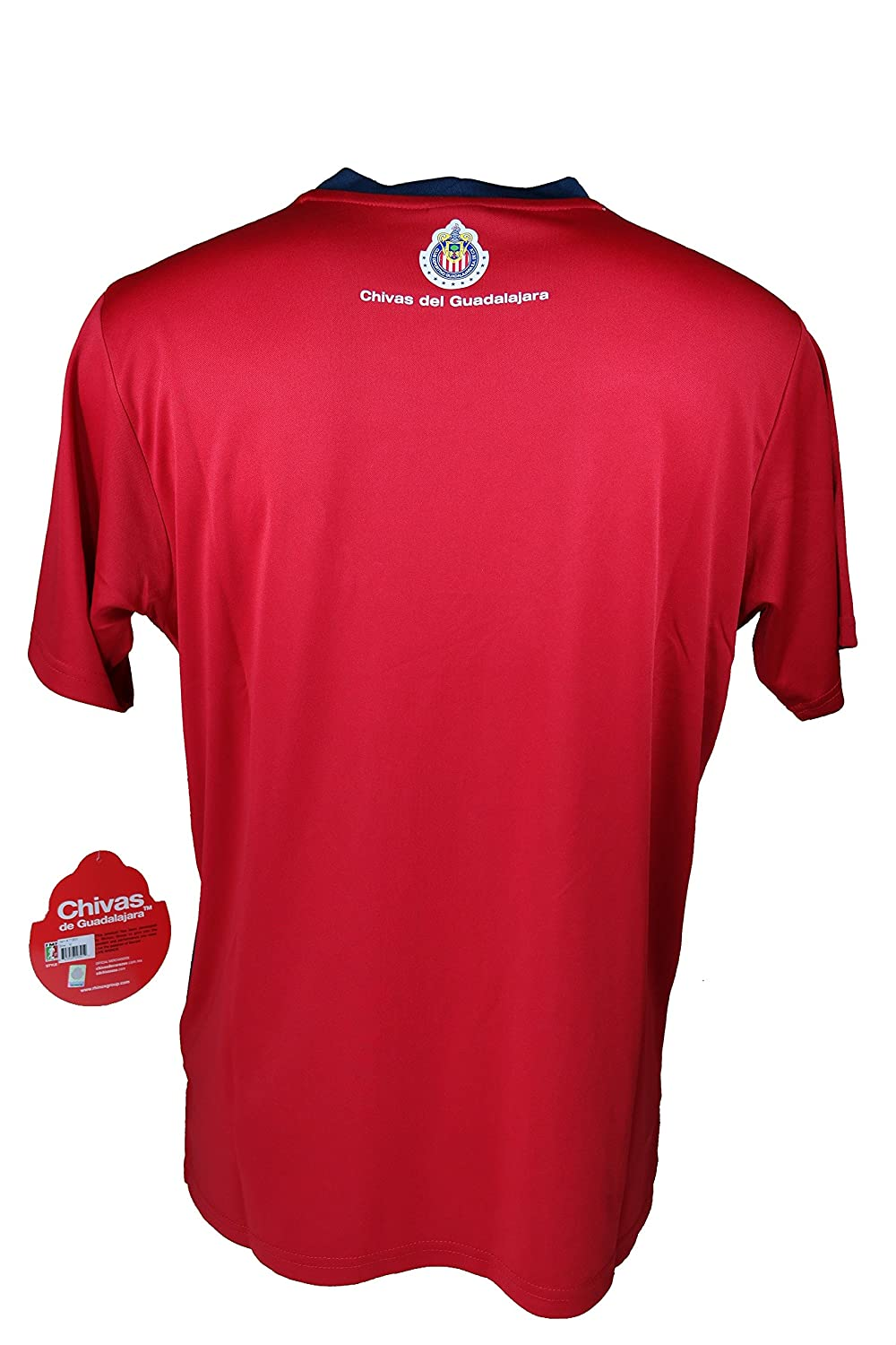 111117c6c Amazon.com   Chivas De Guadalajara Official Adult Soccer Training Poly  Jersey -005 Large   Sports   Outdoors